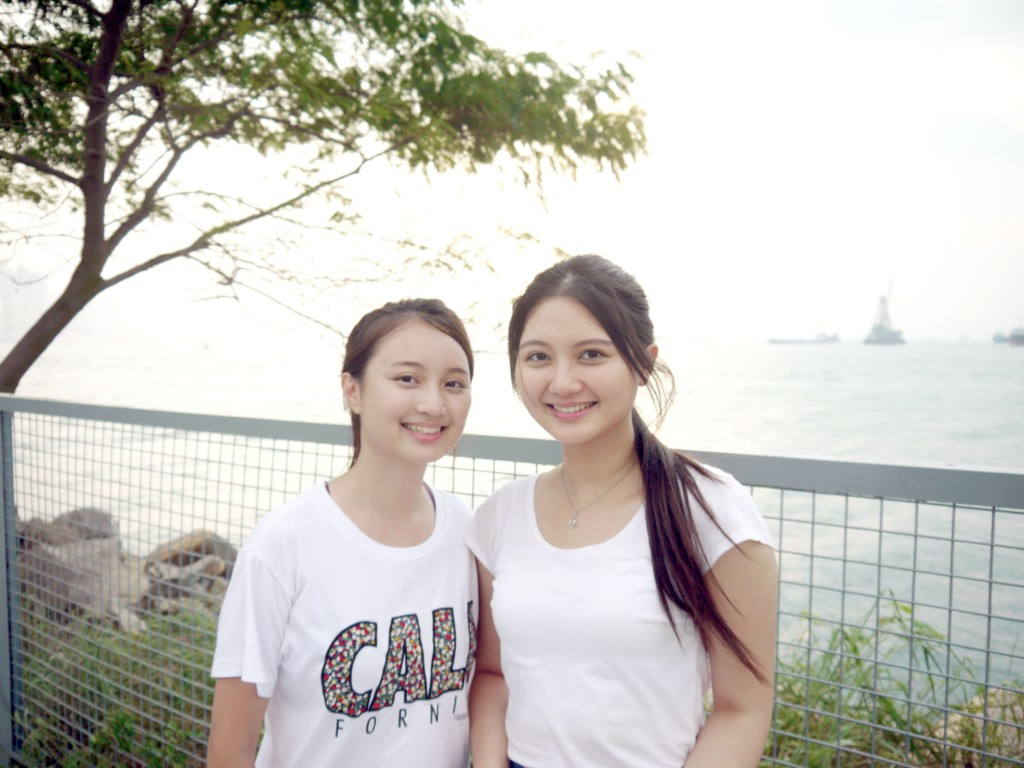 Siuying (left) and Catherine.