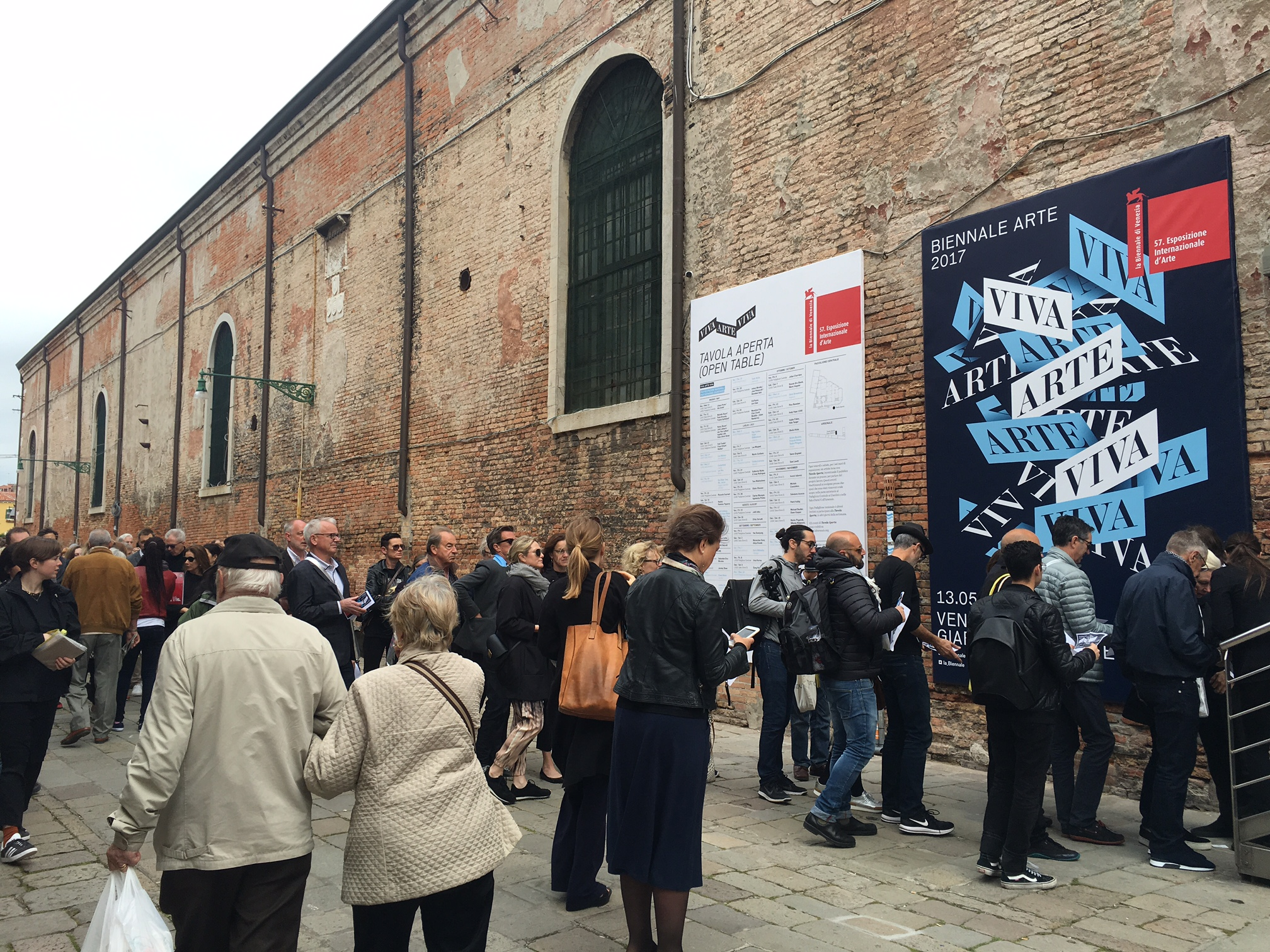 Arsenale on press preview day