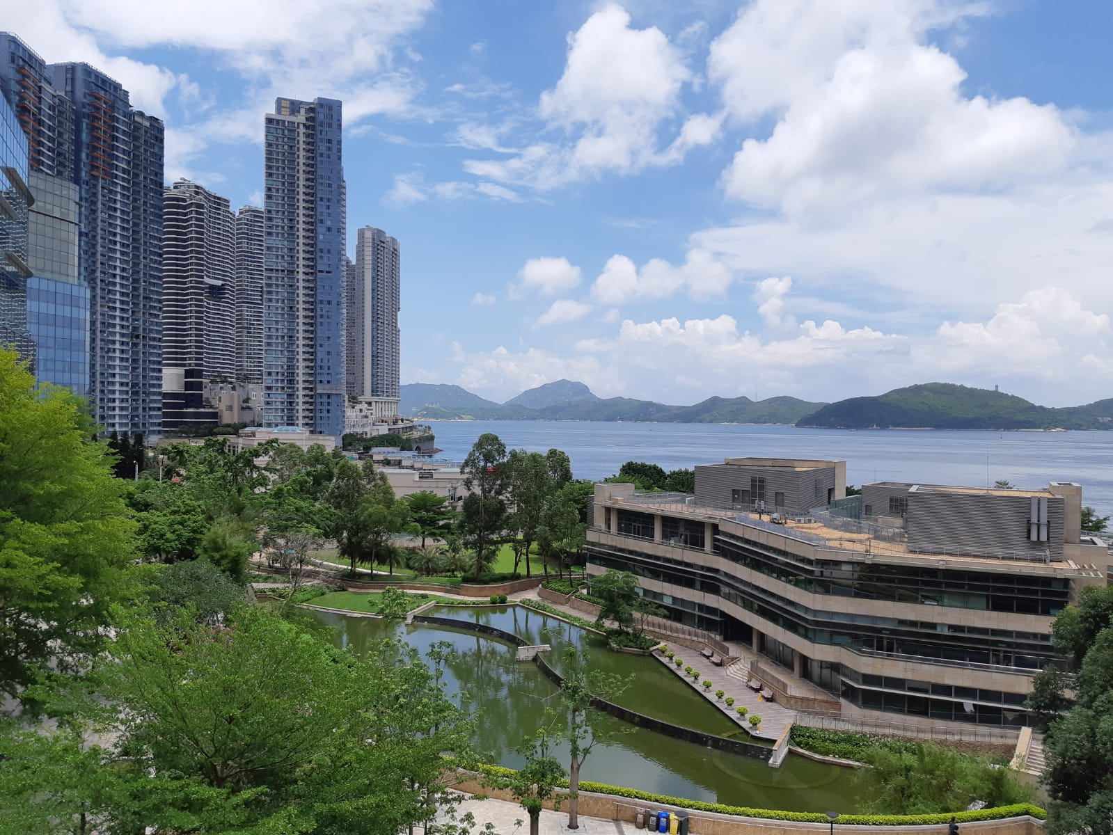 Cyberport's view